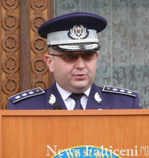 Falticeni-comisar sef Valentin Minoiu