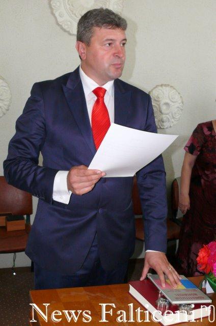 Falticeni-Primarul Coman depune juramantul