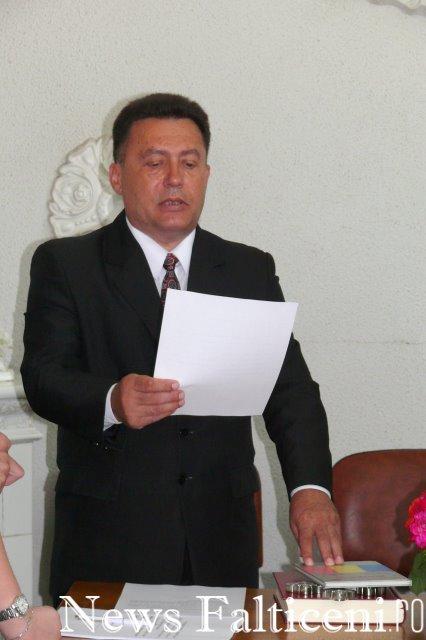 Falticeni-viceprimarul Bulaicon depune juramantul