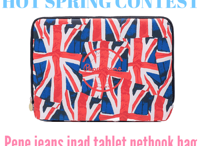 pepe jeans ipad tablet bag