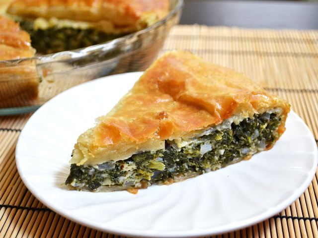 Spinach Pie slice