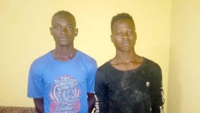 Photo of 2 Arrested For Stealing At Mbanaayili Primary School