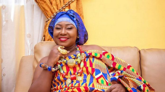 Gifty Anti stopped from eating her favourite dish