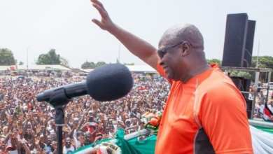 Photo of Mahama takes first round campaign tour to North Tongu