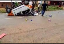 Photo of VIDEO: Most Deadliest Car Accident in Ghana captured on Live video
