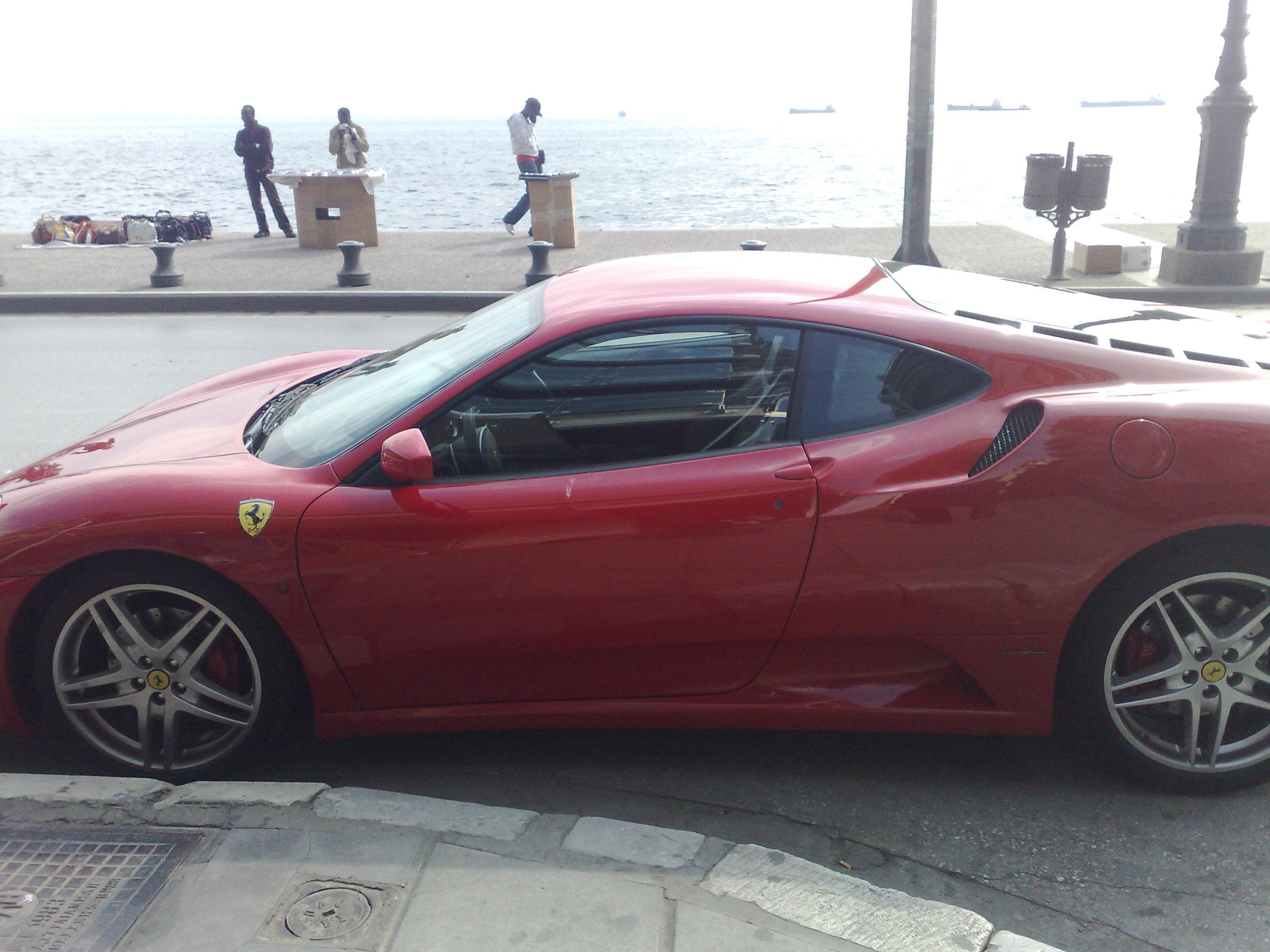Ferrari in Greece