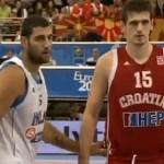 Ελλάδα – Κροατία: 74-69