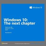 Windows 10: Η Microsoft έδωσε ραντεβού στις 21 Ιανουαρίου