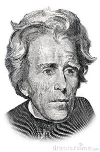 Άντριου Τζάκσον (1767-1845), υπήρξε ο έβδομος πρόεδρος των Ηνωμένων Πολιτειών, με το προσωνύμιο ''κοφτερό μαχαίρι'', υπήρξε κύριος υπέρμαχος της απομάκρυνσης των Ινδιάνων.