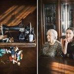 Γιαγιά και εγγονή: Μία σχέση στοργής