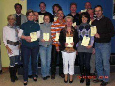 Bild zu Erfolgreiche DTSA-Abnahme im November 2010 (6.6.2011 )
