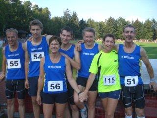Bild zu 3 Siege für die LG Celle-Land bei den Bezirksmeisterschaften!                                                                         (6.9.2011 )