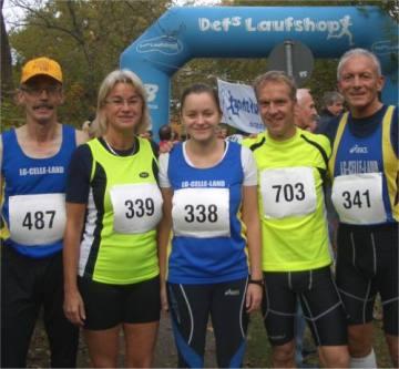 Bild zu Läufer erfolgreich in Ricklingen/Hannover  (2.11.2011 )