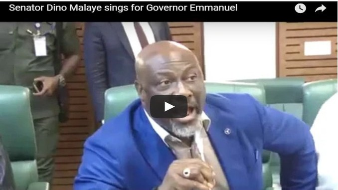 Dino Melaye Mocks Akpabio In Fresh Video Again (Must Watch)