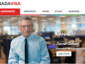 canadian visa lottery form