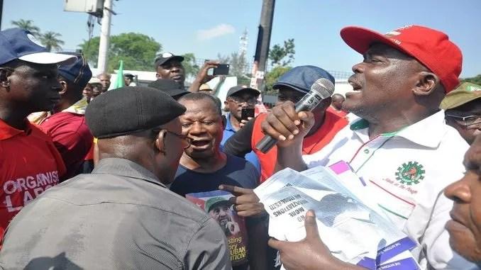 strike action labour leaders speaks