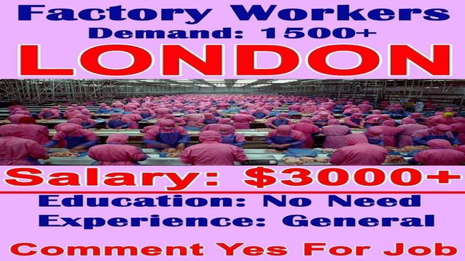 london factory workers demand