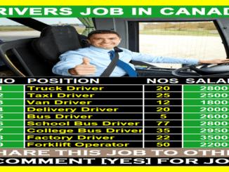 canada offers paid drivers jobs
