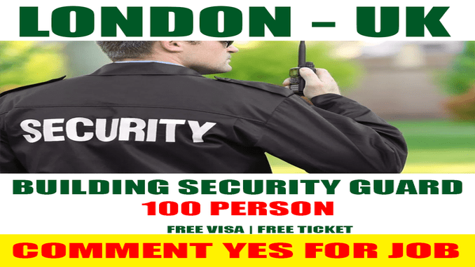 building security officer wanted