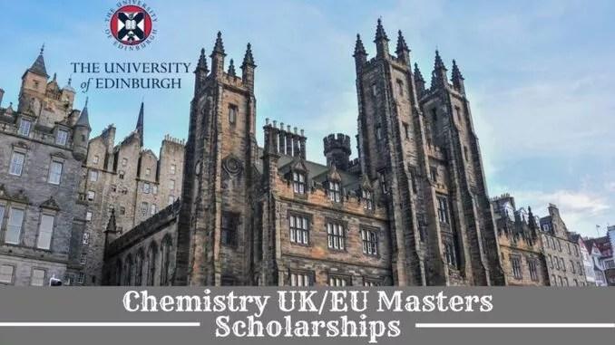 chemistry masters programmes