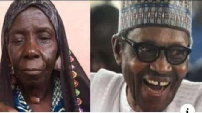 buhari and old woman