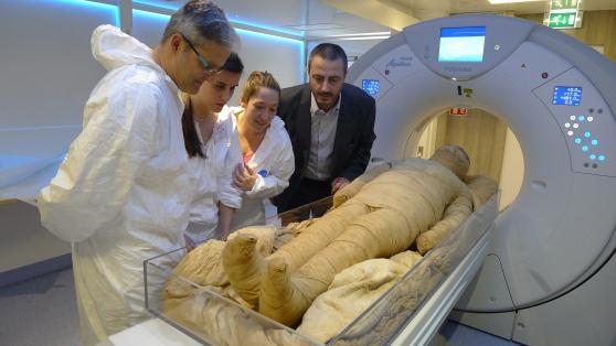 Una Tac per le mummie del museo Egizio.