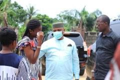 Unyime Idem visits Family of Slain Iniubong Umoren
