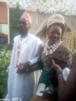 Esio Oquong Udoh Gives Daughter in Marriage