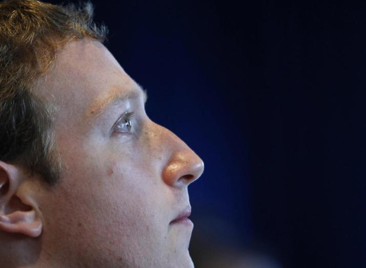 Mark Zuckerberg le PDG de Facebook Credit: Newsweek