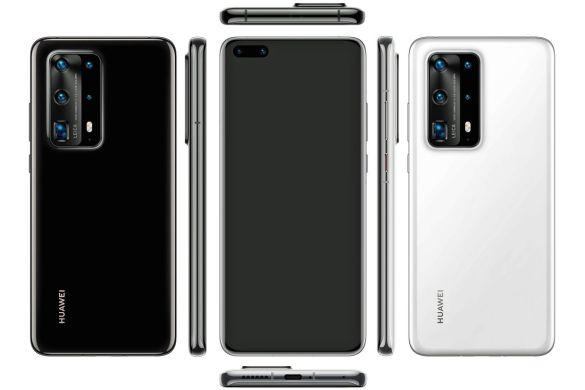 Rendu Huawei P40 Pro (PE)