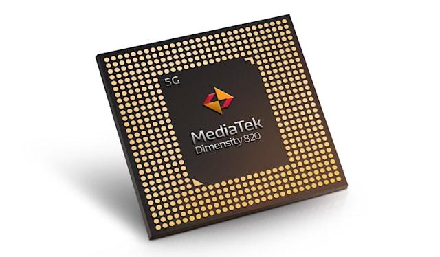 La puce Dimensity 820 de MediaTek pourrait democratiser la 5G