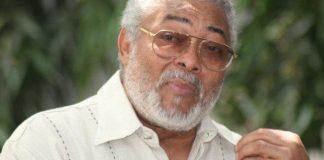 Former President Jerry John Rawlings