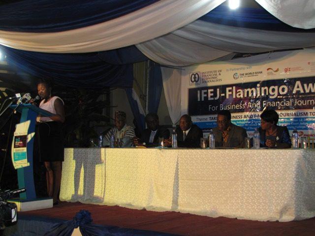 IFEJ 2014 Flamingo Award