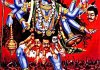 goddess Kali mural