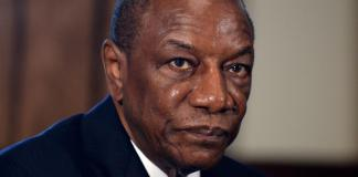 President Alpha Conde