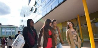 Students at Coventry University