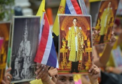 AFP/File / Pornchai Kittiwongsakul  Prosecutions under Thailand's royal defamation law -- known as lese majeste -- have surged since the generals seized power two years ago
