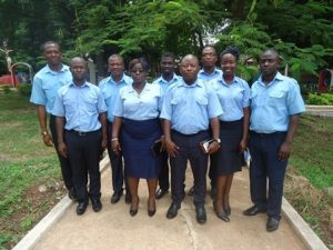 The newly lected COSRA National Officers