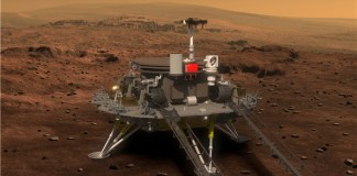 Image of Mars Probe and rover