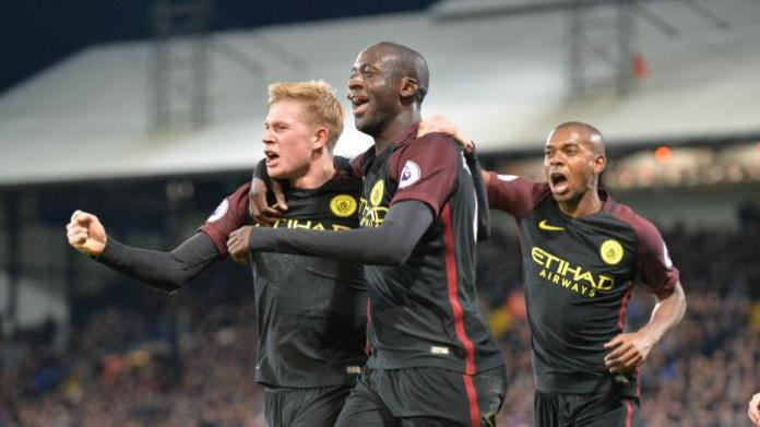 EPL: Toure returns to Manchester City team with match-winning double