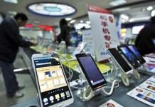 China-made smartphones
