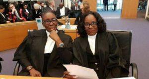 Marieta Brew Oppong and Gloria Akuffo