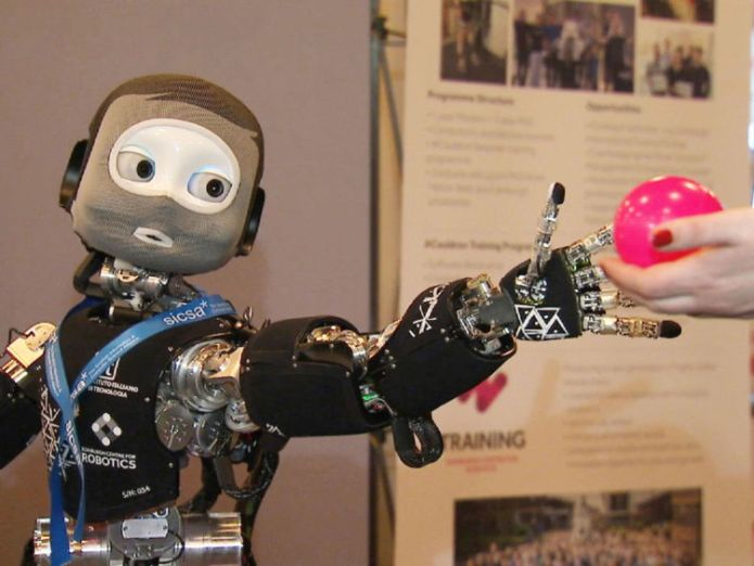 Scientists have showcased 'socially-intelligent' robots which they believe will help tackle loneliness.