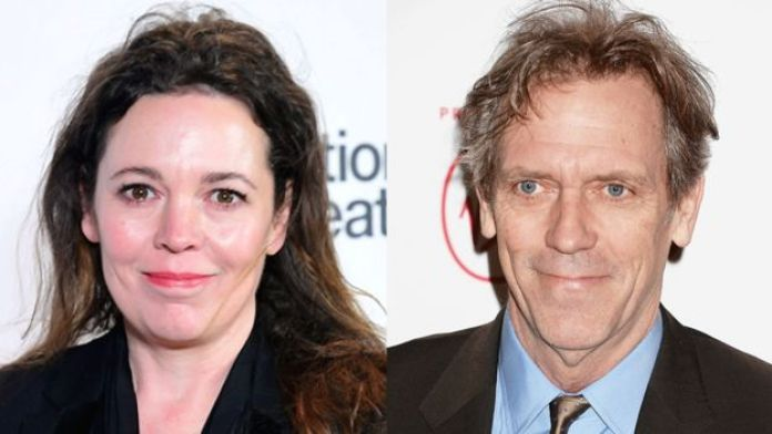 Olivia Colman and Hugh Laurie
