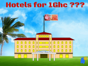 Hotels for 1Ghc