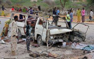 Somalian attack on April 9, 2017