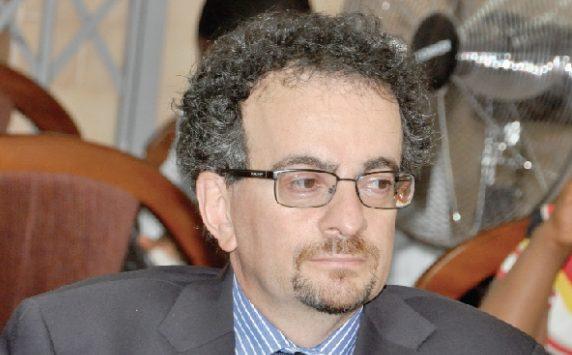 British High Commissioner to Ghana, Jon Benjamin