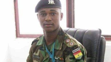 Major Maxwell Mahama