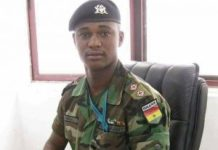 Late captain Mahama