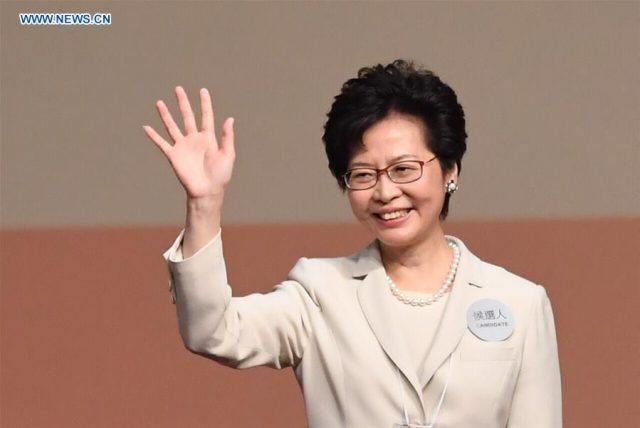 Lam Cheng Yuet-ngor wins election of Hong Kong's fifth-term chief executive: